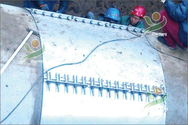 沈阳水务供水管修补案例