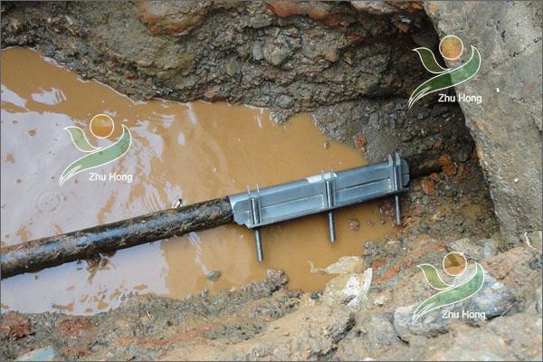 电瓷集团自来水管修复实例