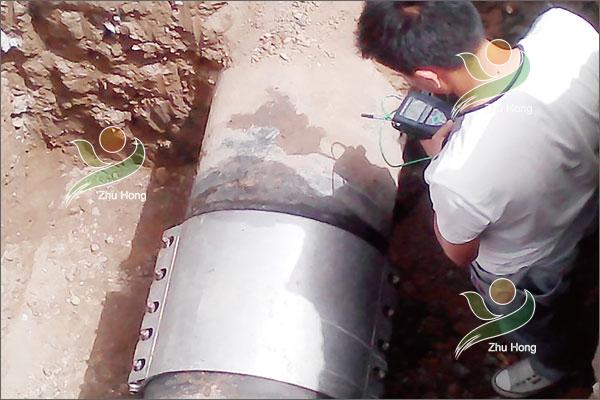 山西华润燃气管道修复案例