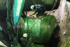 台湾DN2000水泥管修复实例